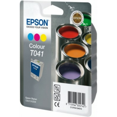 Epson inktpatroon T041 color