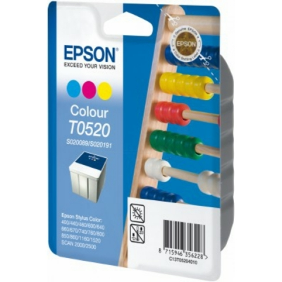 Epson inktpatroon T0520 S020089 S020191 color