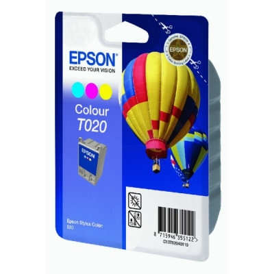 Epson inktpatroon T020 color