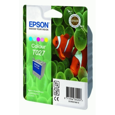 Epson inktpatroon T027 color C13T02740110