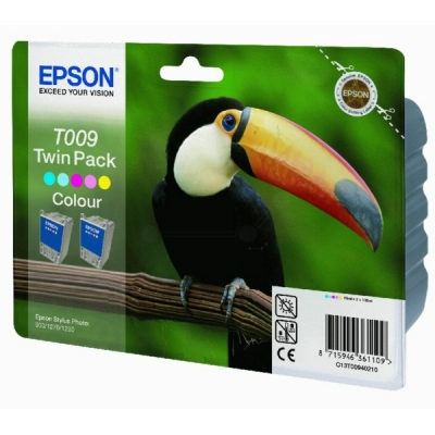 Epson inktpatroon T009 color dubbelpak