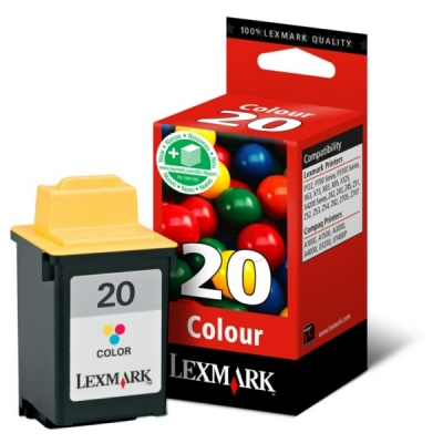 Lexmark printkop nr. 20 color 15MX120E