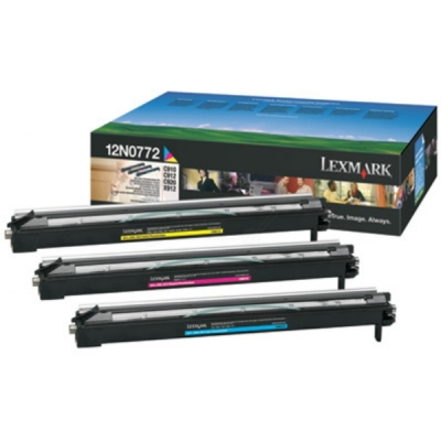Lexmark drum 12N0772 color