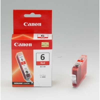 Canon inktpatroon BCI-6R rood 8891A002