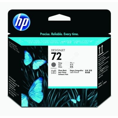 HP printkop nr. 72 grijs+photo zwart C9380A