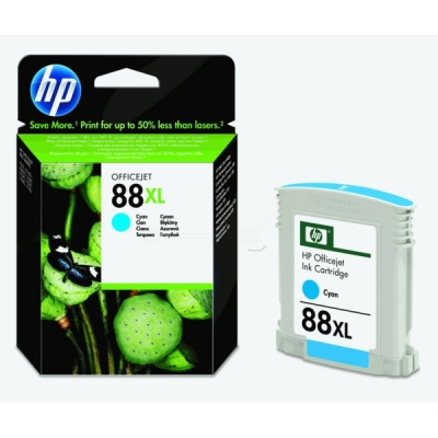 HP inktpatroon nr. 88XL cyaan C9391AE