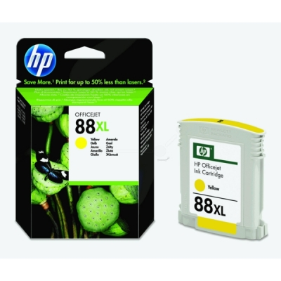 HP inktpatroon nr. 88XL geel C9393AE