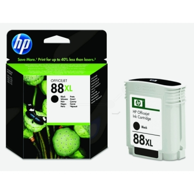 HP inktpatroon nr. 88XL zwart C9396AE