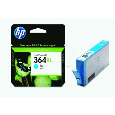 HP inktpatroon nr. 364XL cyaan CB323EE