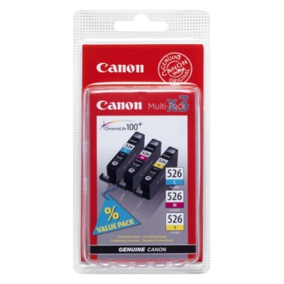 Canon inktpatroon CLI-526CL CMY 4541B006 multipak