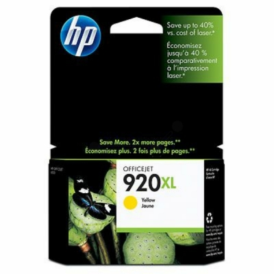 HP inktpatroon nr. 920XL geel CD974AE