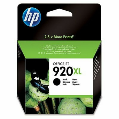 HP inktpatroon nr. 920XL zwart CD975AE