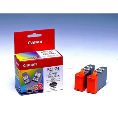 Canon inktpatroon BCI-24C color 6882A009 VE=2