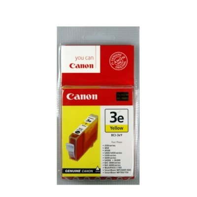 Canon inktpatroon BCI-3eY geel 4482A002