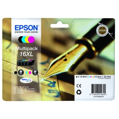 Epson inktpatroon 16XL multipak C13T16364010