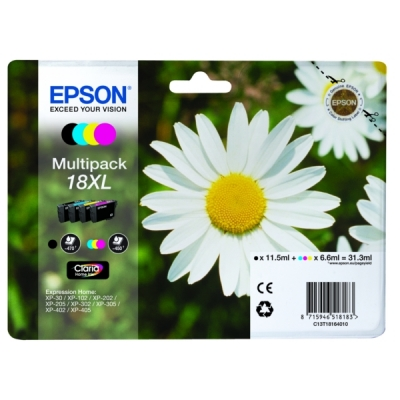 Epson inktpatroon 18XL multipak C13T18164010