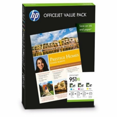 HP printkop 951XL multipak CR712AE + papier