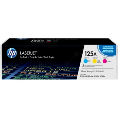 HP toner 125A multipak CMY CF373AM