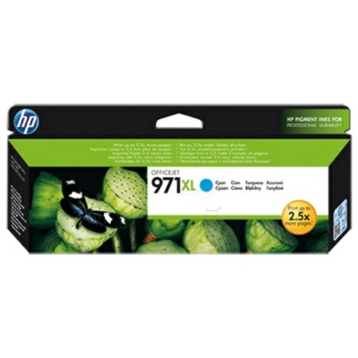 HP inktpatroon nr. 971XL cyaan CN626AE