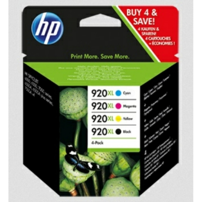 HP inktpatroon nr. 920XL multipak C2N92AE CMYK