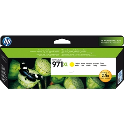 HP inktpatroon nr. 971XL geel CN628AE