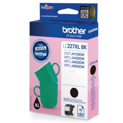 Brother inktpatroon LC-227XLBK zwart