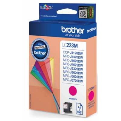 Brother LC-223M inktpatroon magenta