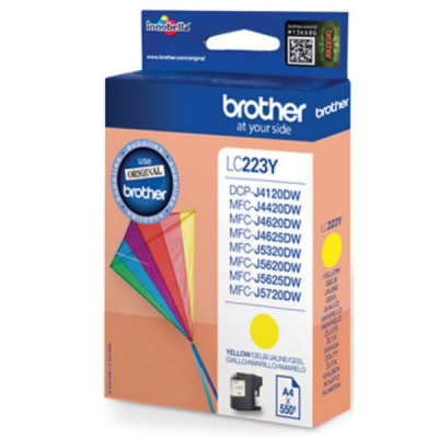 Brother inktpatroon LC-223Y geel