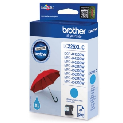 Brother inktpatroon LC-225XLC cyaan