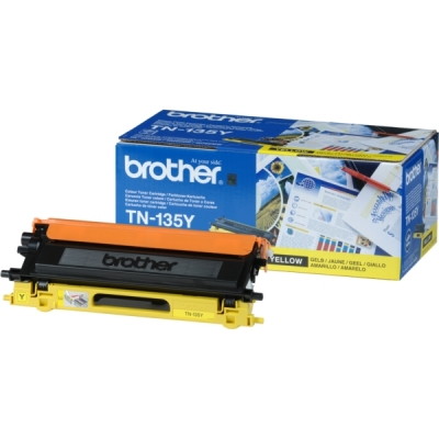 Brother toner TN-135Y geel