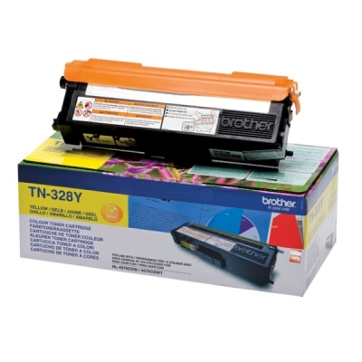 Brother toner TN-328Y geel