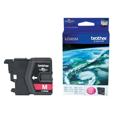 Brother inktpatroon LC-985M magenta