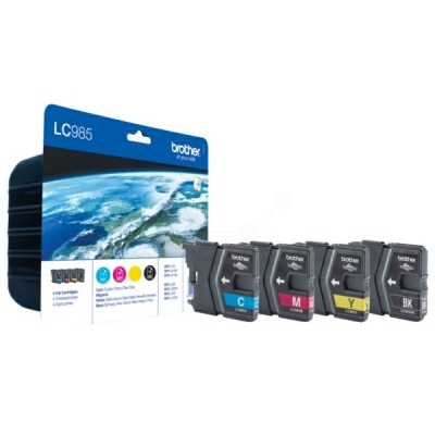 Brother inktpatroon LC-985VALBP CMYK multipak