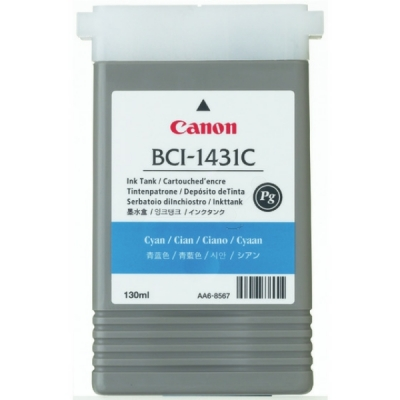 Canon inktpatroon BCI-1431C cyaan 8970A001