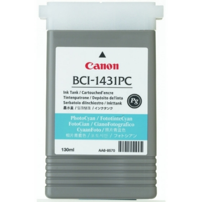 Canon inktpatroon BCI-1431PC cyaan licht 8973A001