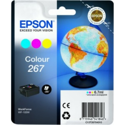 Epson inktpatroon nr. 267 color C13T26704010