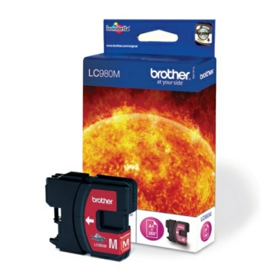 Brother inktpatroon LC-980M magenta