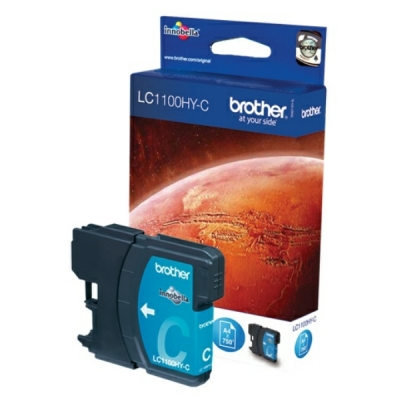 Brother inktpatroon LC-1100HYC cyaan