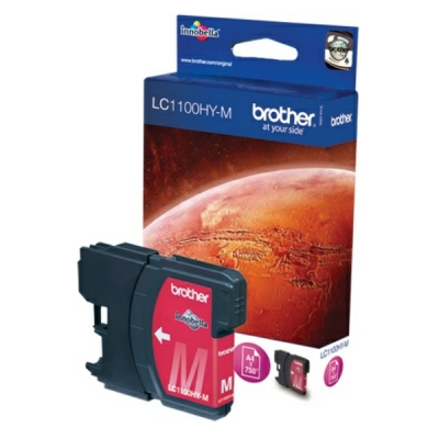 Brother inktpatroon LC-1100HYM magenta