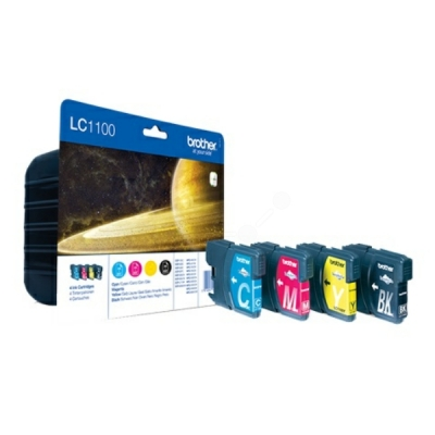 Brother inktpatroon LC-1100VAL CMYK multipak