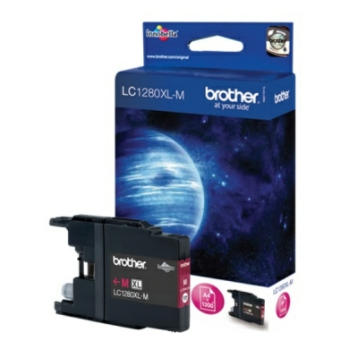 Brother inktpatroon LC-1280XLM magenta