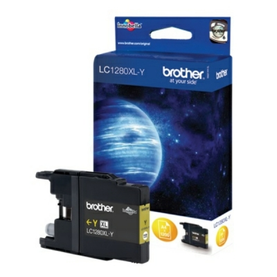 Brother inktpatroon LC-1280XLY geel