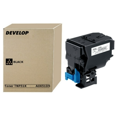 Develop toner A0X51D5 zwart