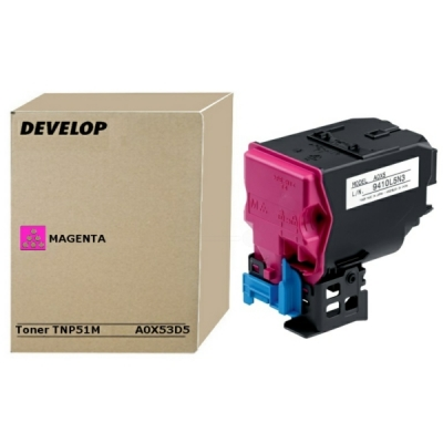 Develop toner A0X53D5 magenta