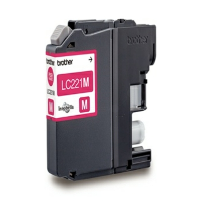 Brother inktpatroon LC-221M magenta