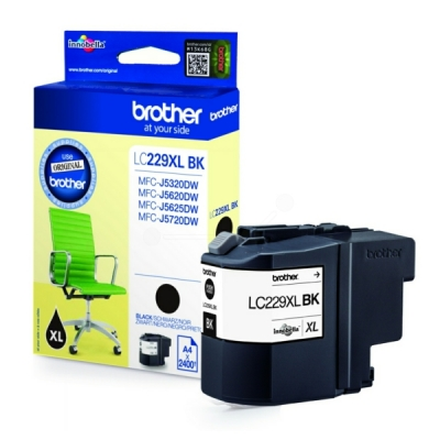 Brother LC-229XLBK inktpatroon zwart
