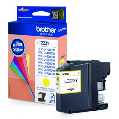 Brother LC-223Y inktpatroon geel