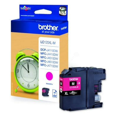 Brother LC-125XLM inktpatroon magenta