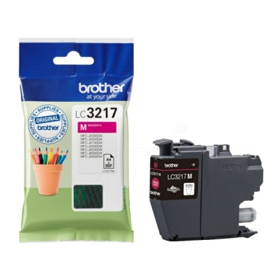 Brother LC-3217M inktpatroon magenta