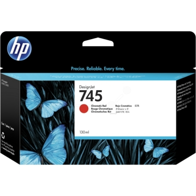 HP F9K00A inktpatroon rood 745